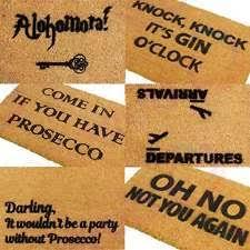 Come In And Go Away Doormat Funny Door Mat Ebay