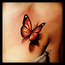 Butterflies Tattoos On - 50 amazing 3d butterfly tattoos