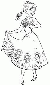 free printable coloring pages frozen fever coloring page cartoon