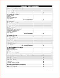 Company Budget Template Production Budget Templatememo Templates Word Memo Templates Word