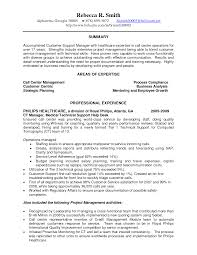 Summary Of Qualifications Resume Resume Summary For Customer Service Representative Resume For
