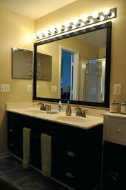 bathroom led lighting ideas large bathroom mirror with lights fashionable ideas light for