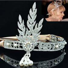 gatsby headband aliexpress buy 1 pieces the great gatsby jewelry