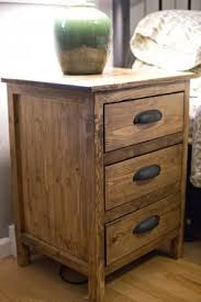 reclaimed pine filing cabinet beautiful wood nightstand bedside table pine reclaimed cup pulls