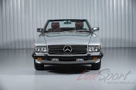 1987 mercedes benz 560sl roadster 560sl stock 1987153 for sale