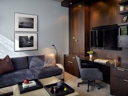 Office In Living Room Home Design - Home office in living room design