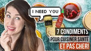 marcotte cuisine 7 meilleurs condiments pour manger santé astuces cuisine