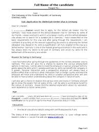 cover letter for immigration officer format invoice