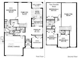 floor plans for 5 bedroom homes enjoyable design 6 5 bedroom home house plans 654263 45 bath plan