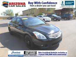 certified pre owned 2012 nissan altima 2 5 s 4dr car in mesa