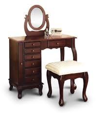 Bench Vanity Amazon Com New Espresso Vanity Set Jewelry Armoire Dresser And