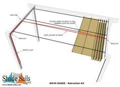 Retractable Pergola Shade by Retractable Pergola Roof Diy Retractable Patio Swembad