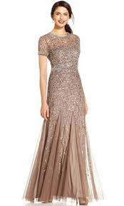 papell dress papell cap sleeve fully beaded gown size 6 of