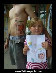 tattoo ideas for men for their kids