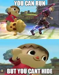 Villager Memes - none shall escape the villager super smash brothers know your