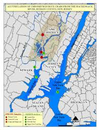 Map Of Hudson County Nj Chromium In Blue Crabs