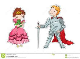 knight and princess clipart free here
