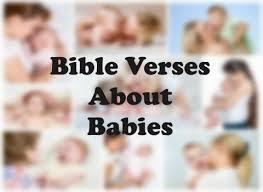 8 bible verses babies