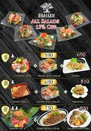 pro en cuisine pro ใหม ส ดค ม ม ท งซ ช ซาช ม kaizen sushi khon kaen