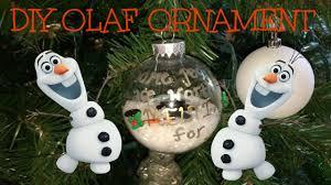 diy olaf ornament countdown to