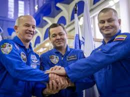 soyuz tma 20m docks and delivers three new crewmembers to the iss