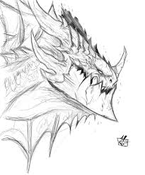 deathwing rough sketch by jay zilla deviantart com on deviantart