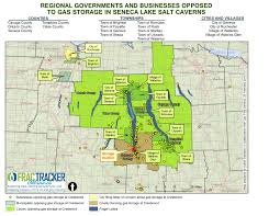 Crestwood Map Businesses Oppose Gas Storage In Seneca Lake Salt Caverns New
