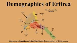 Eritrea Map Demographics Of Eritrea Youtube