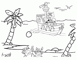 pirate coloring pages coloring page coloring home