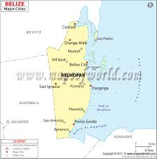 united states major cities map belize cities map major cities in belize