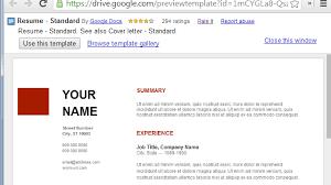 free resume templates for google docs use google docs resume