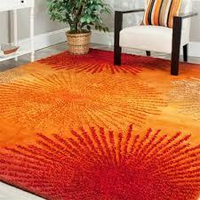 Orange Shag Rugs Orange Rugs You U0027ll Love Wayfair