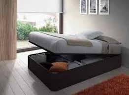 alonza 4ft6 lift up 3d textured black oak ottoman storage bed