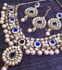 Buy Dazzling Kundan Set In Page 5 Of Necklace Sets