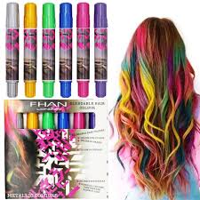 temporary hair color for kids coloring pages