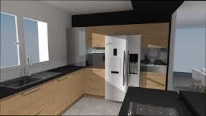 cuisine frigo cuisine bois cuisine bois frigo