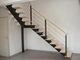 escalier peint 2 couleurs escalier baudouin construction bois