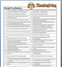 thanksgiving would you rather questions seasonal classrooms