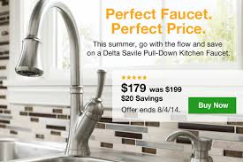 delta savile kitchen faucet lowes fresh style savings find it all here milled