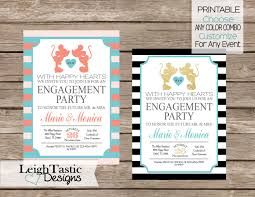 engagement invite bridal shower invitation wedding rehearsal