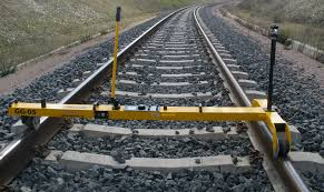 estimating the accuracy of track surveying trolley measurements