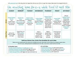 bi weekly whole food meal plan for january 3 u201316 u2014 the better mom