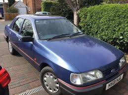 classic one owner from new ford sierra sapphire 1 8lx 1990 mot 18