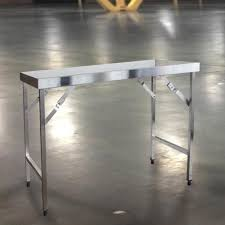 Work Table With Stainless Steel Top 49 by Trinity Ecostorage 48 In Nsf Stainless Steel Table With Wheels