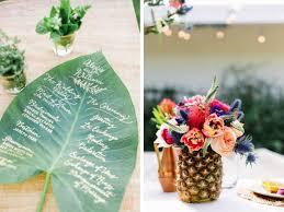 dã coration de table de mariage un mariage tropical exotique la fabrique des instants
