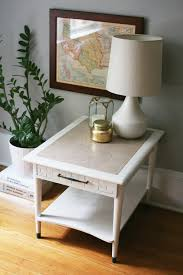 Minimal Table Design Bringing Modern To Mid Century Side Table In Annie Sloan U0027s Old