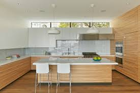 Veneer For Kitchen Cabinets by Random Matched Olive Ash Veneer Runs Throughout The Kitchen
