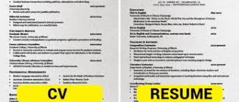 Diference Between Cv And Resume Popular I U0027m A Useless Info Junkie