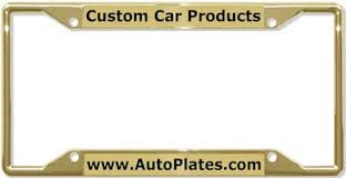 Make Your Own Vanity Plate Custom License Plates And Personalized License Plate Frames