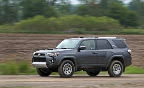 toyota forerunner 2018 toyota 4runner in depth model review car and driver